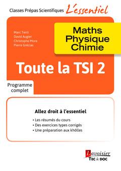 Couverture de l'ouvrage Toute la TSI 2