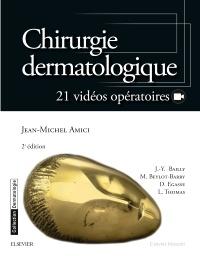Couverture de l'ouvrage Chirurgie dermatologique (2° Éd.)