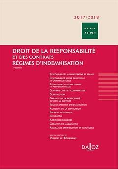 Couverture de l'ouvrage Droit de la responsabilité et des contrats