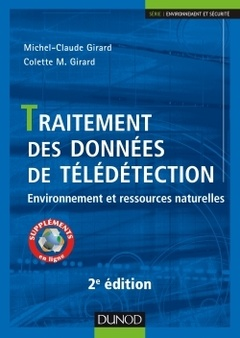 Cover of the book Traitement des données de télédetection