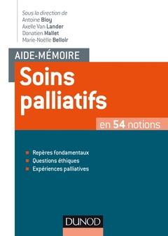Couverture de l'ouvrage Soins palliatifs