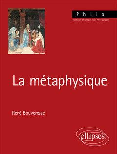 Couverture de l'ouvrage La métaphysique