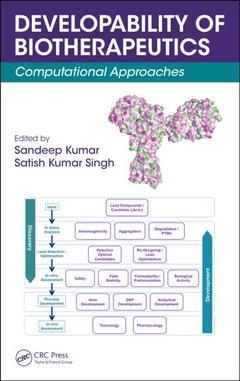 Couverture de l'ouvrage Developability of Biotherapeutics