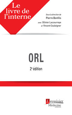 Couverture de l'ouvrage ORL
