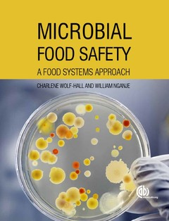 Couverture de l'ouvrage Microbial Food Safety