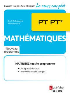 Couverture de l'ouvrage Mathématiques PT PT*
