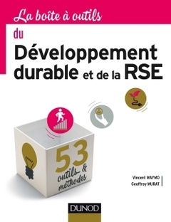 Couverture de l'ouvrage La boîte à outils du développement durable et de la RSE