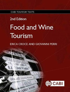 Couverture de l'ouvrage Food and Wine Tourism