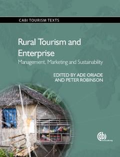 Couverture de l'ouvrage Rural Tourism and Enterprise