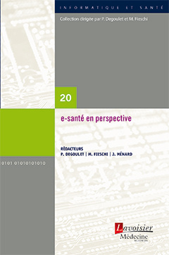 Couverture de l'ouvrage e-santé en perspective