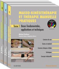Couverture de l'ouvrage Masso-kinésithérapie et thérapie manuelle pratiques - pack de 3 tomes