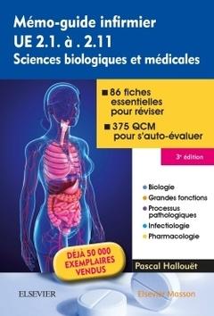 Couverture de l'ouvrage Mémo-Guide Infirmier - UE 2.1 À 2.11