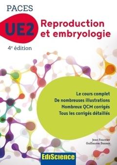 Couverture de l'ouvrage UE2 Reproduction et embryologie