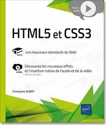 Couverture de l'ouvrage HTML5 et CSS3