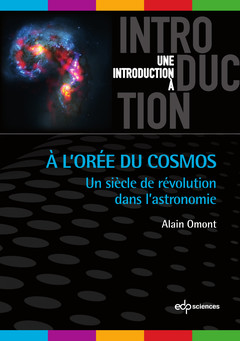 Couverture de l'ouvrage A l'orée du Cosmos
