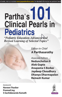 Cover of the book Partha's 101 Clinical Pearls in Pediatrics