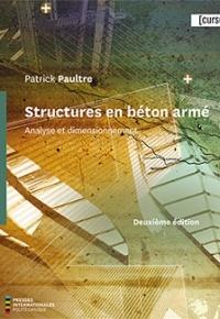 Couverture de l'ouvrage Structures en béton armé