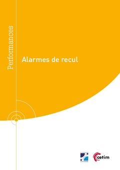 Couverture de l'ouvrage Alarmes de recul (9Q296)