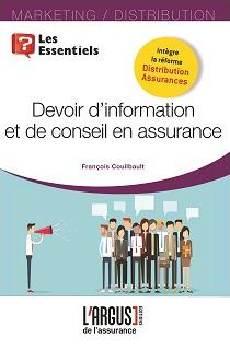 Couverture de l'ouvrage Le devoir d'information et de conseil en assurance