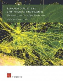 Cover of the book European Contract Law and the Digital Single Market