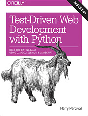 Cover of the book Test-Driven Development with Python
