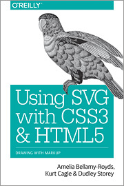 Couverture de l'ouvrage Using SVG with CSS3 and HTML5