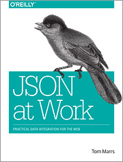 Cover of the book JSON at Work