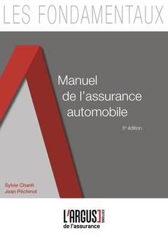 Couverture de l'ouvrage Manuel de l'assurance automobile