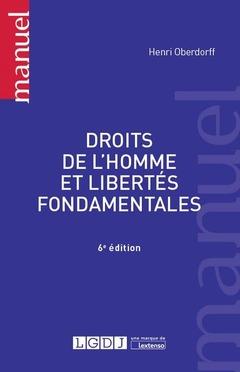 Couverture de l'ouvrage Droits de l'homme et libertés fondamentales