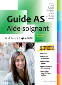 Couverture de l'ouvrage Guide AS - Aide-soignant