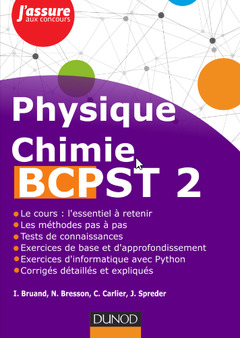 Couverture de l'ouvrage Physique-Chimie BCPST - 2e année