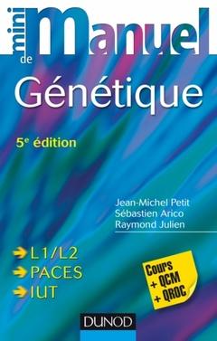 Cover of the book Mini Manuel de génétique