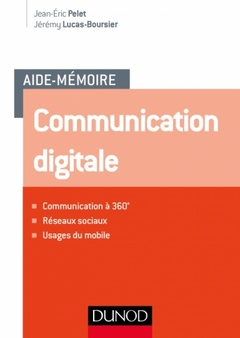 Couverture de l'ouvrage Communication digitale
