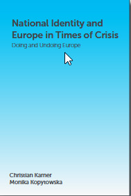 Couverture de l'ouvrage National Identity and Europe in Times of Crisis