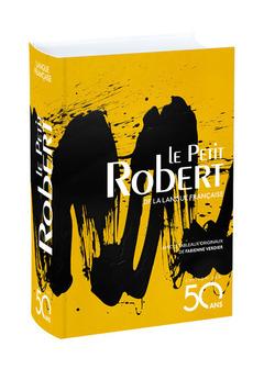 Couverture de l'ouvrage Le Petit Robert de la langue française