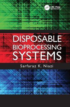 Couverture de l'ouvrage Disposable Bioprocessing Systems