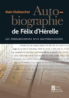 Couverture de l'ouvrage Autobiographie de Félix d'Hérelle