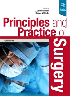 Couverture de l'ouvrage Principles and Practice of Surgery (7th Ed.)
