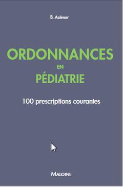 Couverture de l'ouvrage Ordonnances en pédiatrie
