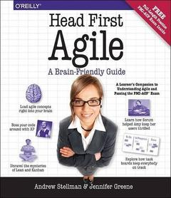 Cover of the book Head First Agile