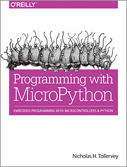 Cover of the book Programming with MicroPython