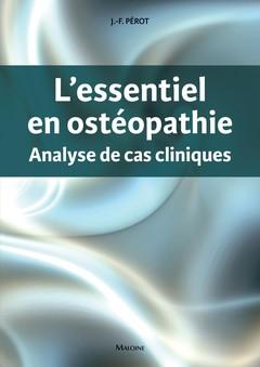 Couverture de l'ouvrage L'essentiel en ostéopathie