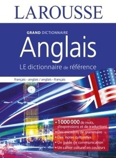 Couverture de l'ouvrage Grand dictionnaire d'anglais