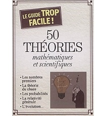 Couverture de l'ouvrage 50 théories mathématiques et scientifiques