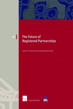 Cover of the book The Future of Registered Partnerships