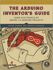 Cover of the book The Arduino Inventor′s Guide