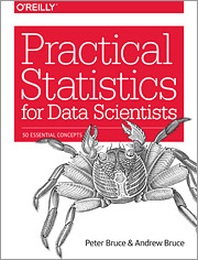 Cover of the book Practical Statistics for Data Scientists