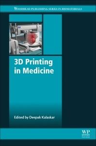 Couverture de l'ouvrage 3D Printing in Medicine