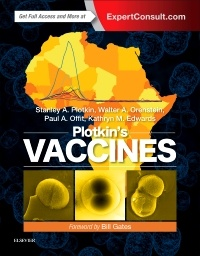 Couverture de l'ouvrage Plotkin's Vaccines (7th Ed.) - inc.Expert Consult™ eBook version