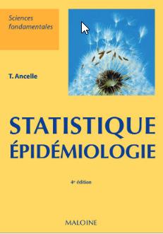 Couverture de l'ouvrage Statistique - Épidémiologie